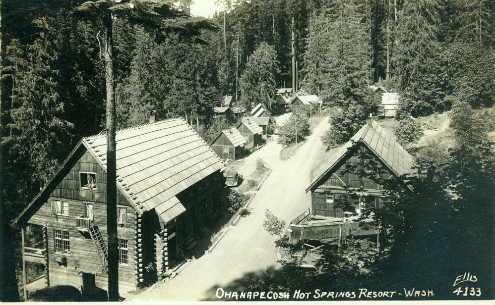 Ohanapecosh Hot Springs Resort - Wash.