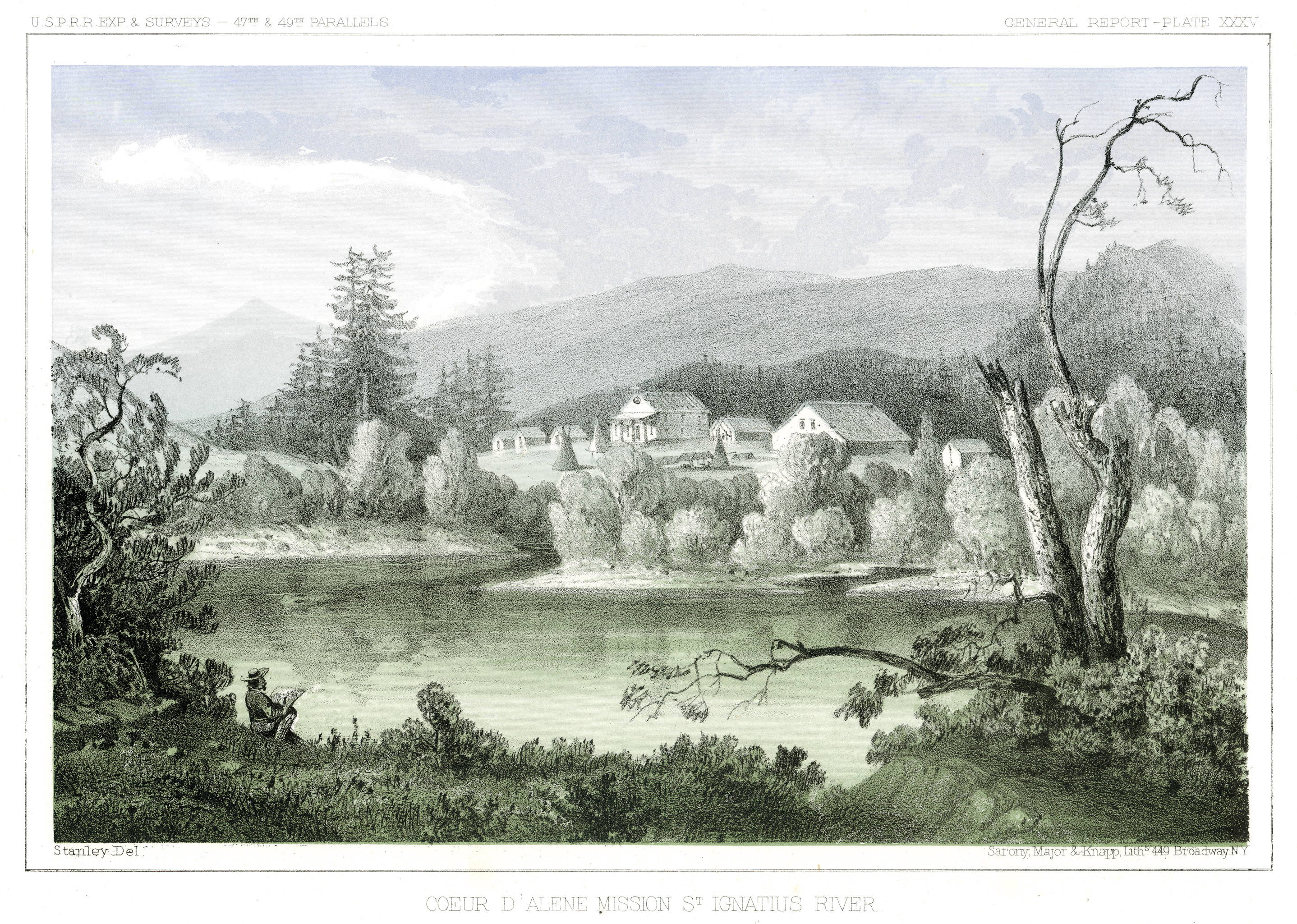 Coeur D'Alene Mission St. Ignatius River