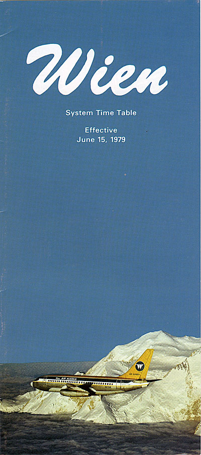 Wien system time table: effective June 15, 1979
