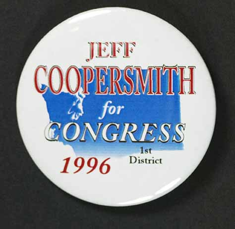 Jeff Coopersmith campaign button
