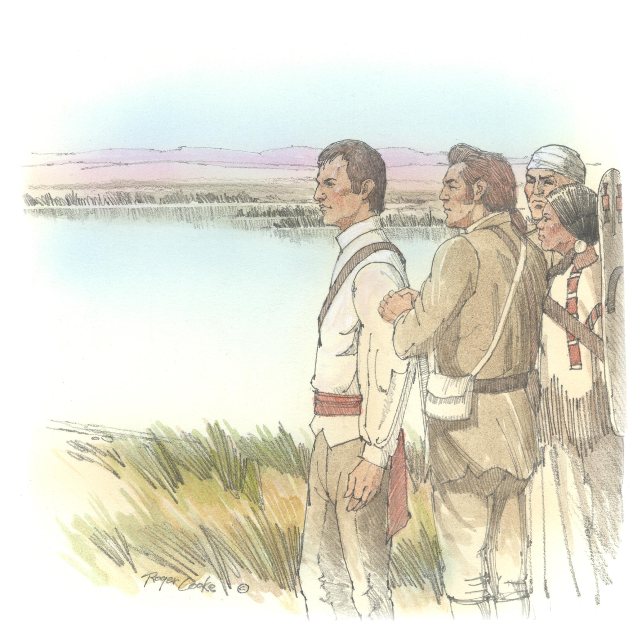 Great Columbia River - Vignette