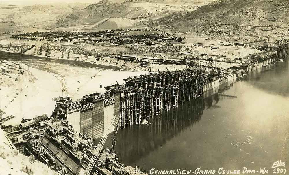 General View - Grand Coulee Dam - Wn.