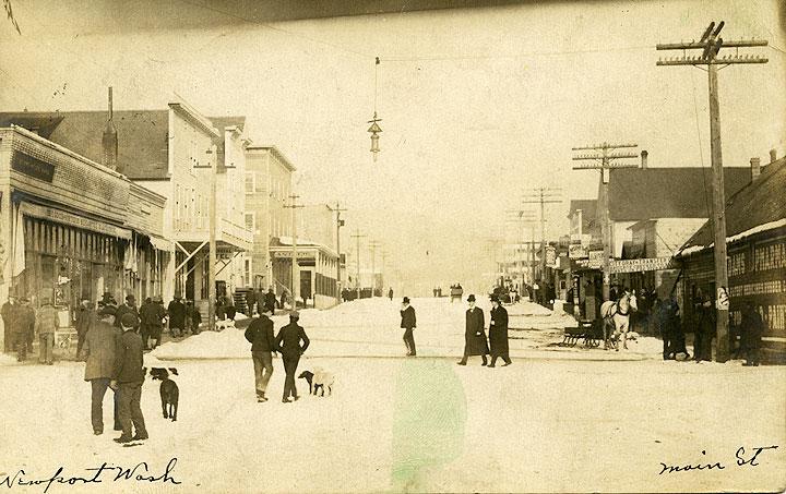 [Main Street, Newport, WA]