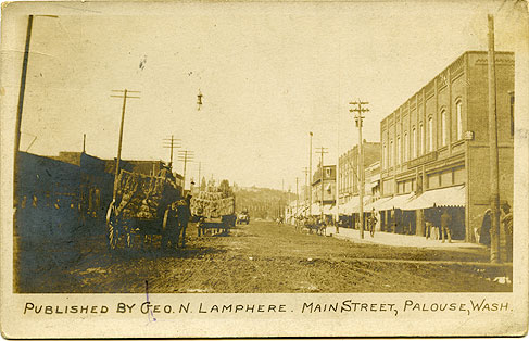 Main Street, Palouse, Wash.