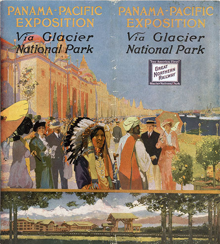 Panama-Pacific Exposition via Glacier National Park