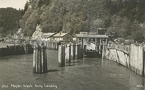 Megler, Wash. Ferry Landing