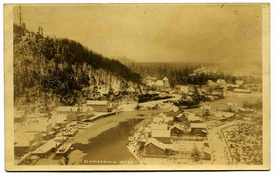 [View of Skamokawa, Washington]