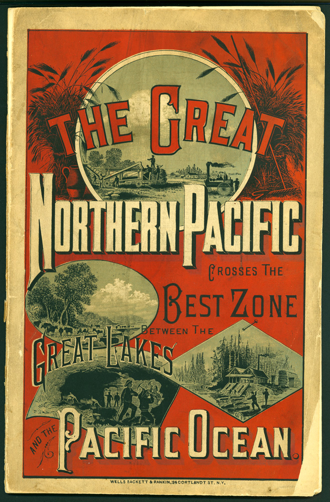 The Northern Pacific Railroad.  Sketch of its history: delineation of the divisions of its transcontinental line: its features as a great through route from the Great Lakes to the Pacific Ocean: its relations to the chief waterways of the continent