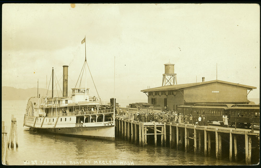 T.J. Potter Boat at Megler Wash.