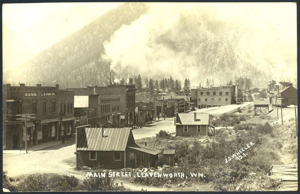 Main Street, Leavenworth, WN.