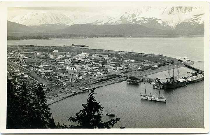 [Aerial view, Seward, Alaska]