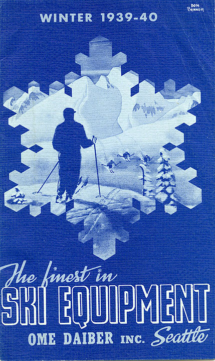 The finest in ski equipment, winter 1939-40, Ome Daiber, Inc. Seattle