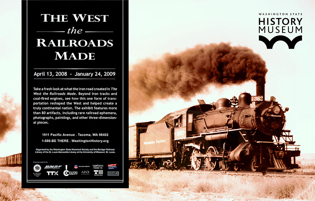 The West the railroads made