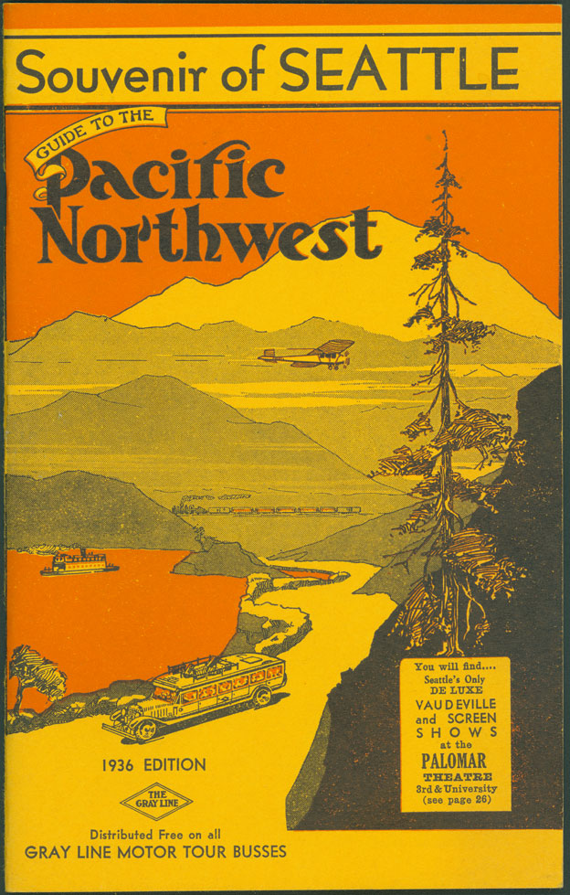 Souvenir of Seattle : guide to the Pacific Northwest