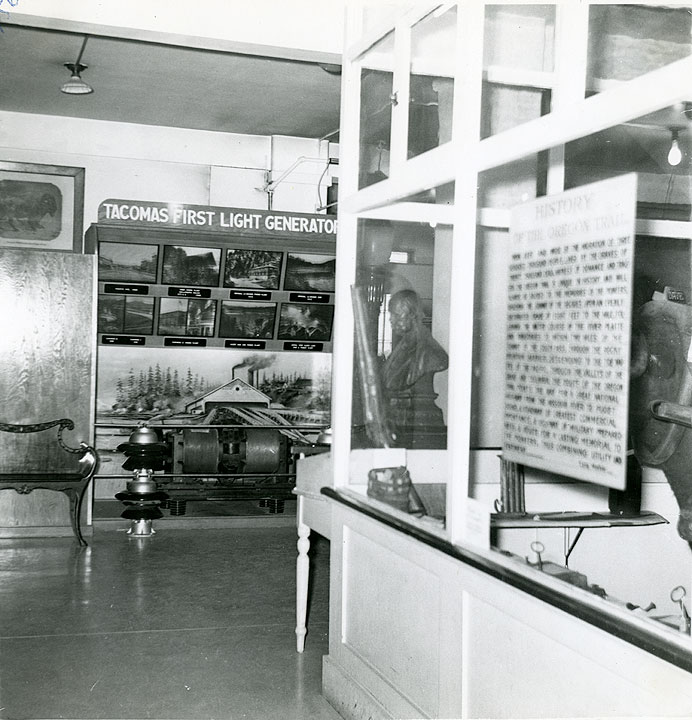 [Tacoma's First Light Generator display, Ferry Museum]