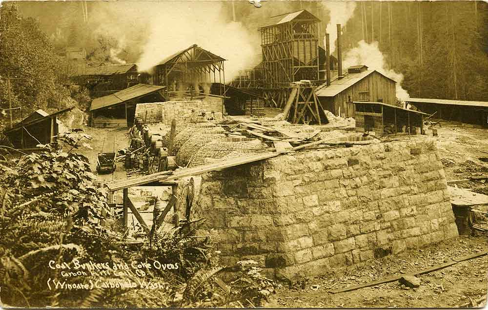 Coal Bunkers and Coke Ovens, Carbon Hill Coke Co.