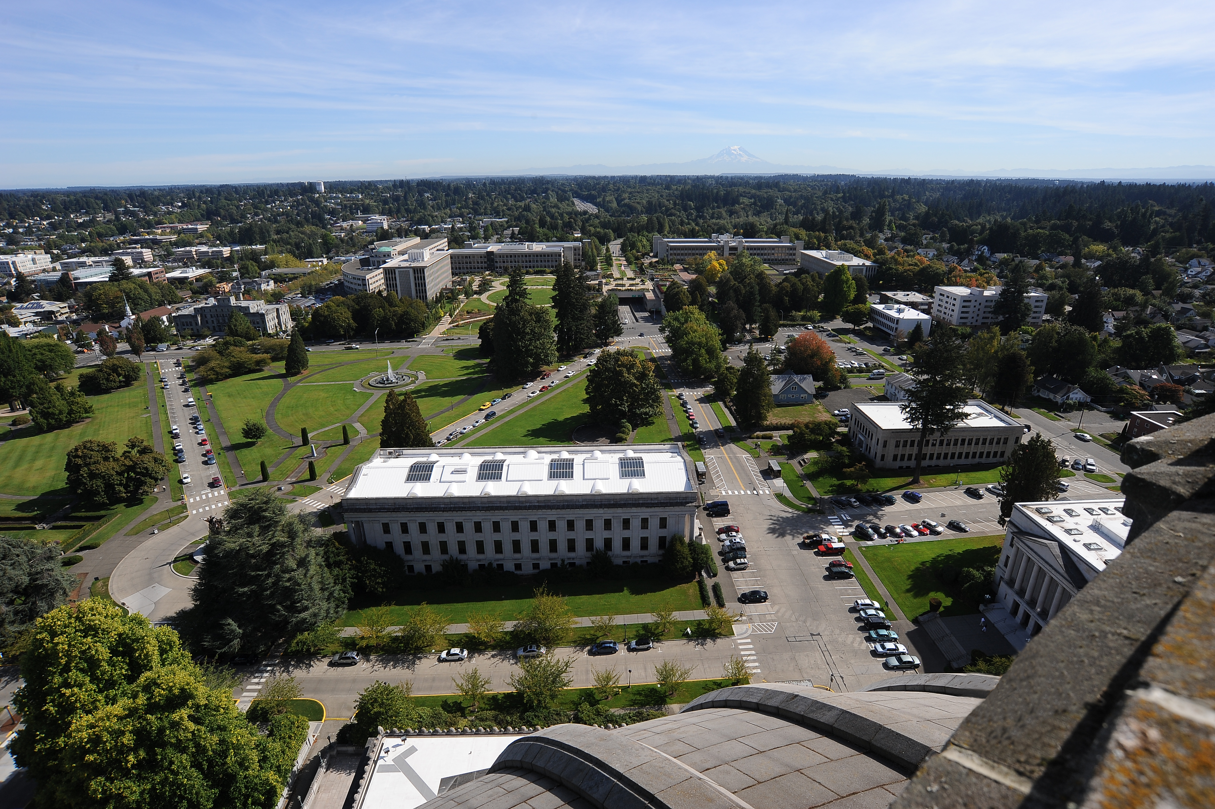 Olympia, WA - State Capitol Grounds and Legislative Building
