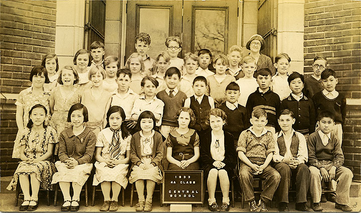 [Uncle George's Fourth Grade Class, Central School, Tacoma]