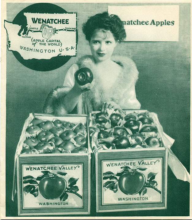 Wenatchee (apple capital of the world)