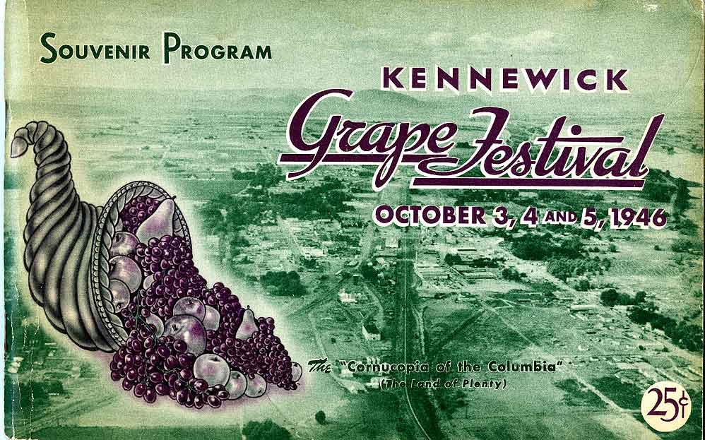 Kennewick grape festival, October 3, 4 and 5, 1946