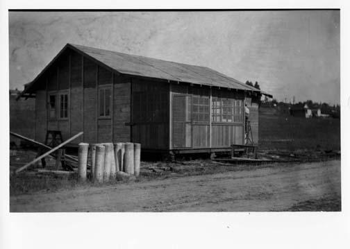 [building at Cushman Indian School]