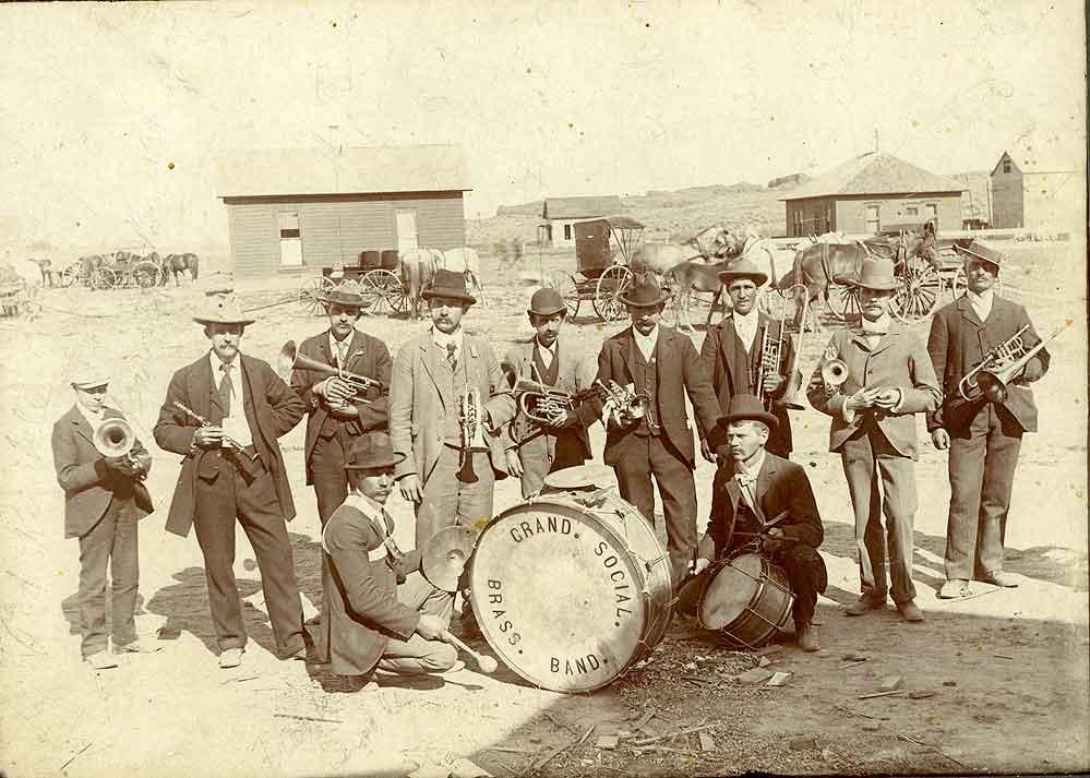 [Grand Social Brass Band, Odessa, Washington]