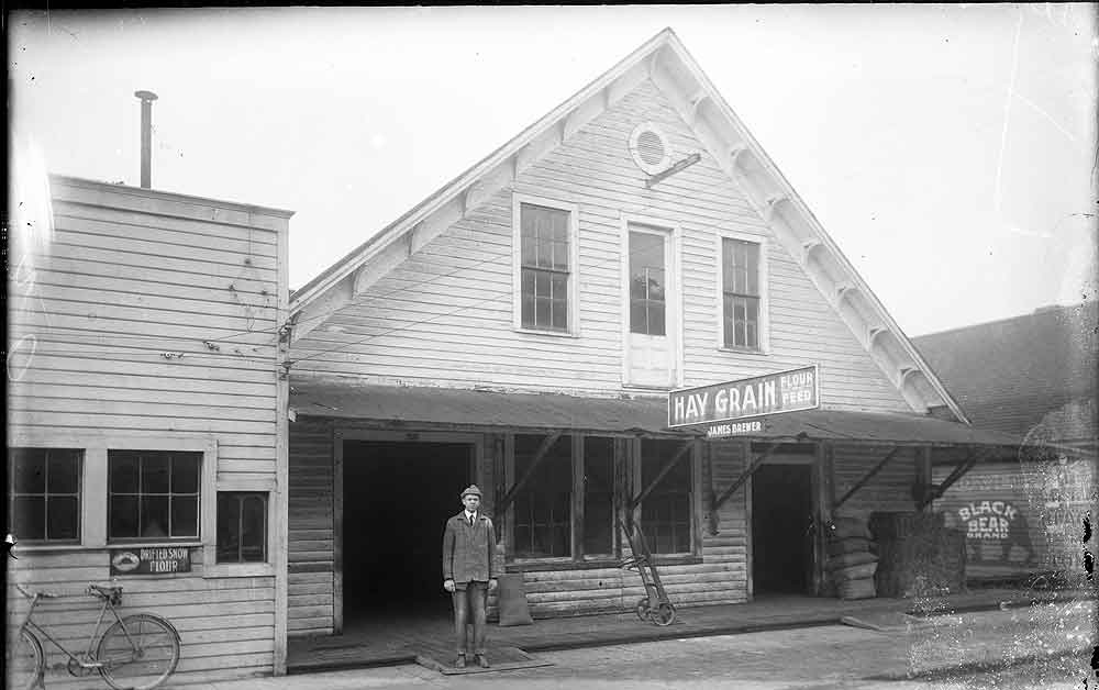 [James Brewer Hay and Grain store]