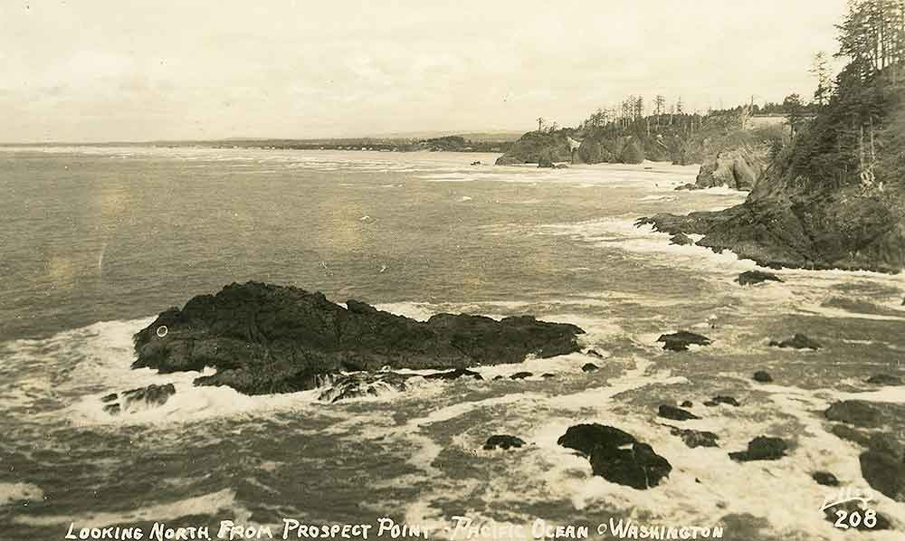 Looking North From Prospect Point - Pacific Ocean - Washington