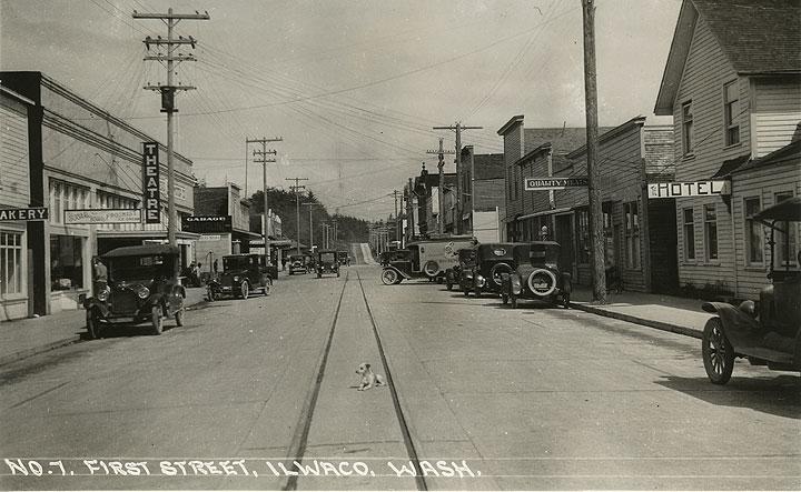 First Street, Ilwaco, Wash.
