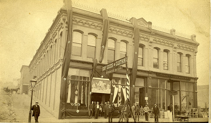 [Peritz & Co. and Other Businesses, Pacific Avenue and Thirteenth Street, Tacoma]