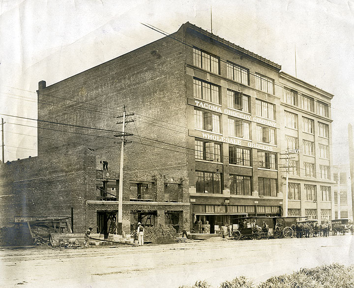 [Tacoma Grocery Co., Wholesale Grocers, 2106 Pacific Avenue, Tacoma]