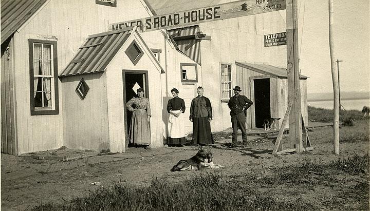 Meyer's Road House, Seward, Alaska