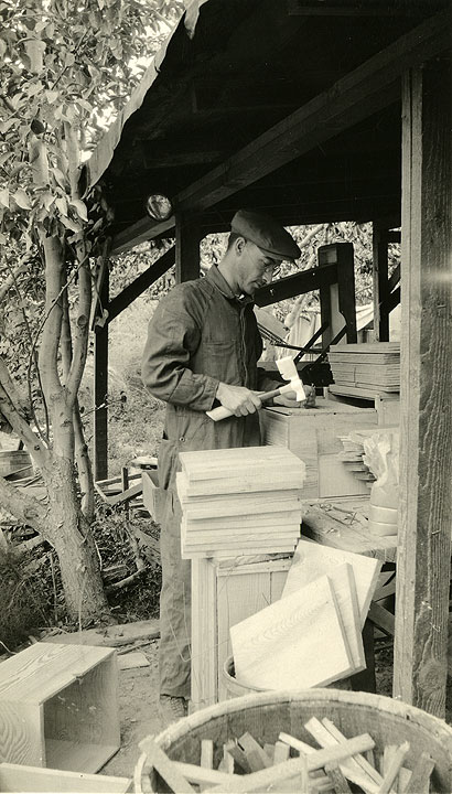 [Asahel Curtis Constructing Storage Boxes]