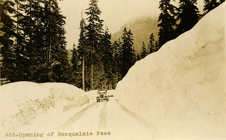 465 - Opening of Snoqualmie Pass