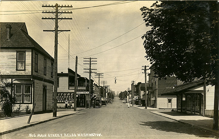 Main Street, Kelso Washington