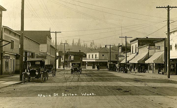 Main St., Sultan Wash.