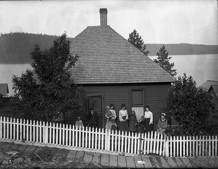 [Home on Lake, near Spokane]