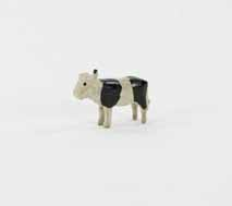 [toy cow for a Moravian Christmas putz]