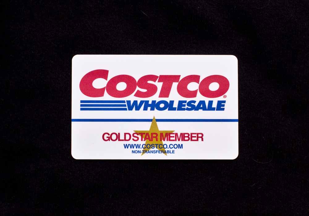 [Costco membership card]