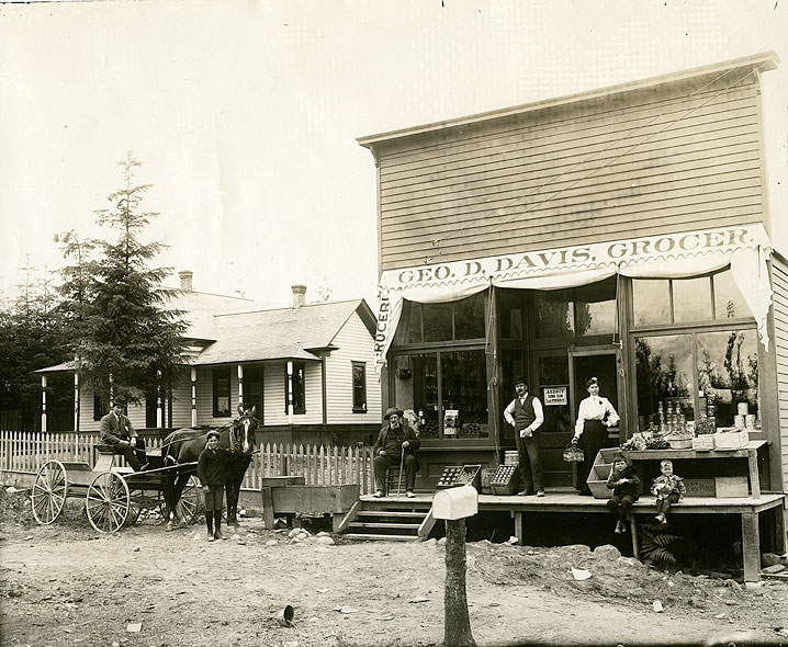 [George D. Davis Grocery Store, 5320 East H Street, Tacoma]