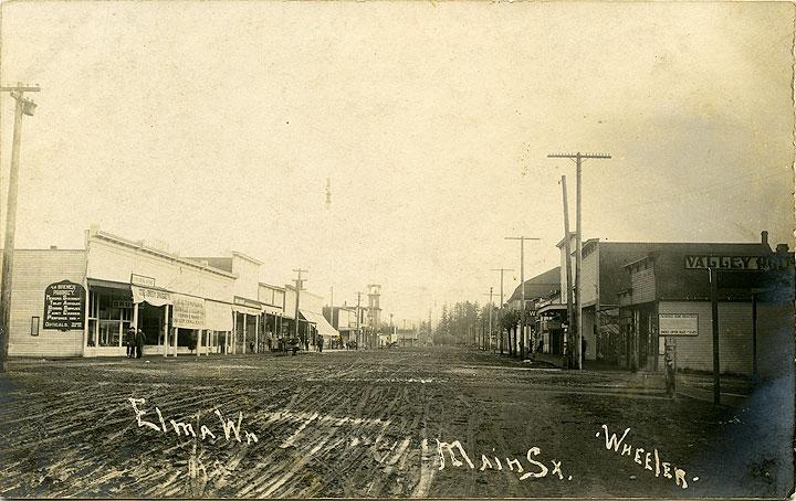 Elma, Wn, Main Street