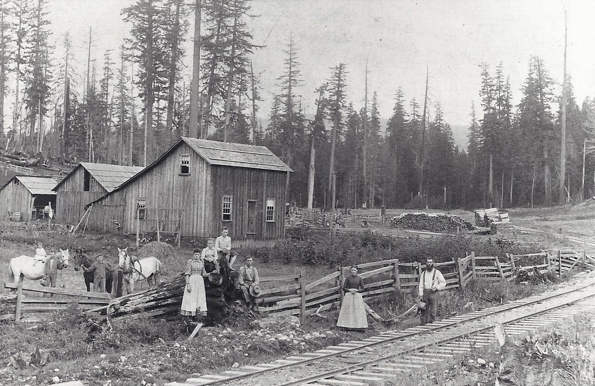 Peacock Farm, 1889