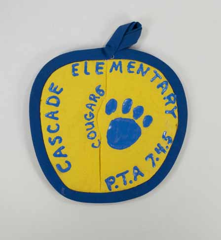 [Potholder for Cascade Elementary PTA]