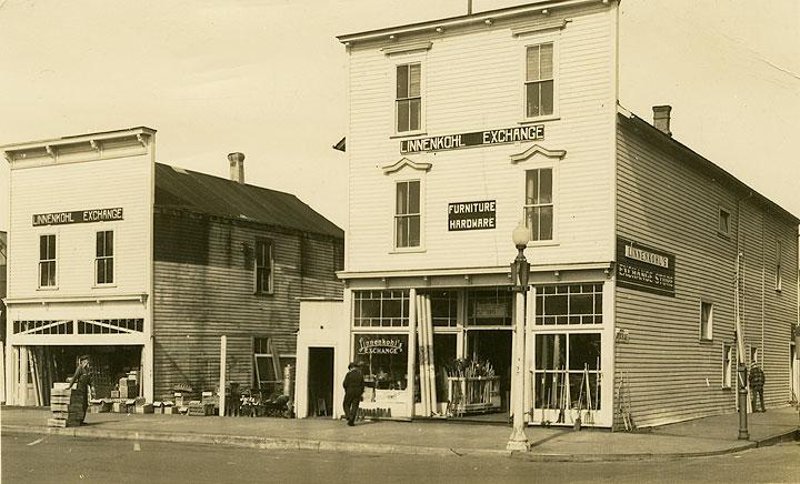 [Linnenkohl Exchange, 422 East Market St., Aberdeen, WA]