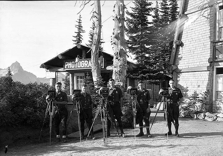 Photo shop crew [Mount Rainier National Park]