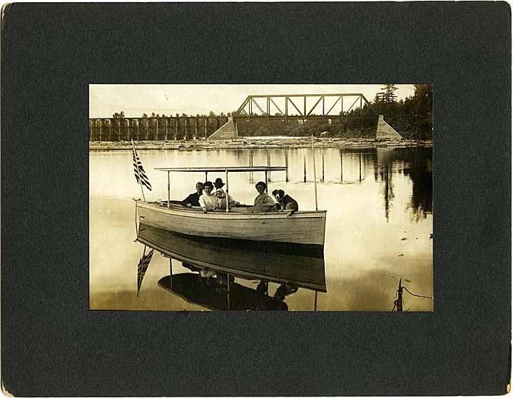 Roffler's boat in Camas, WA