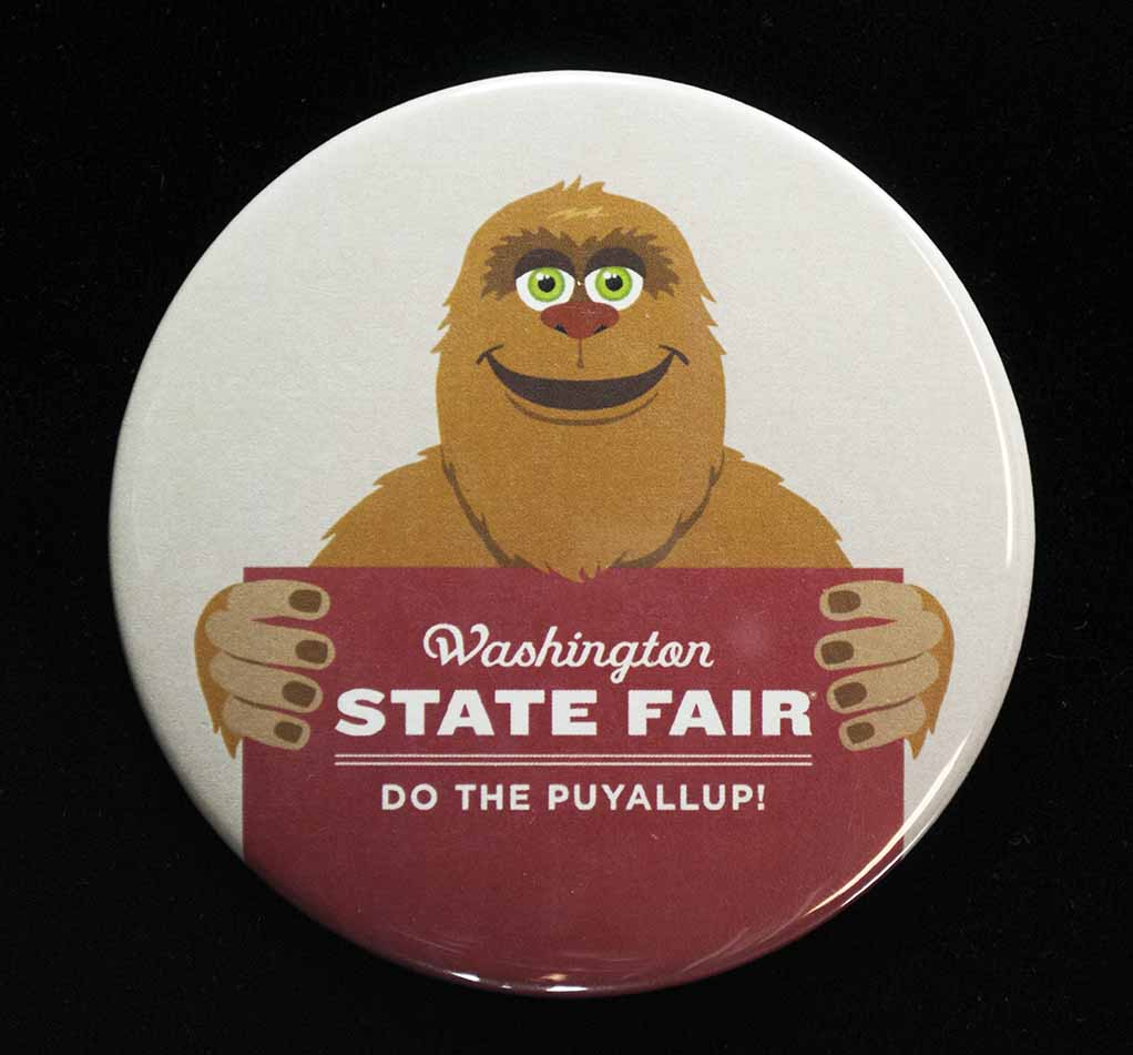 [pin promoting the Washington State Spring Fair in Puyallup]