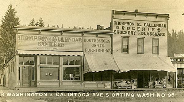 Corner Washington & Calistoga Ave. S., Orting, Wash