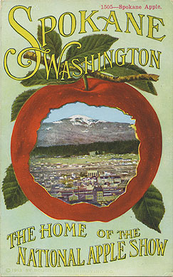 Spokane, Washington, the home of the National Apple Show
