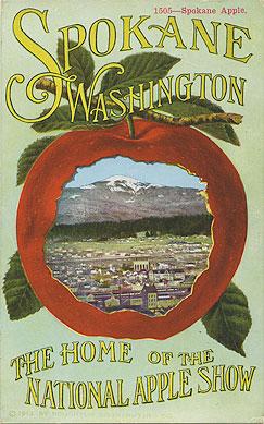 Spokane, Washington, the home of the National Apple Show